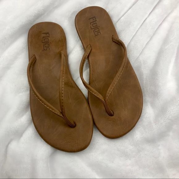 c9155d31ee50c0 Flojos Shoes - Flojos Flip Flop Sandals Brown